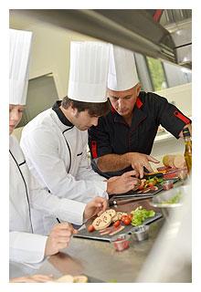 Apprentissage de la cuisine